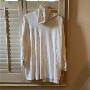 Long sleeved turtle neck sweater dress